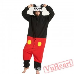 Adult Mickey Mouse Onesie Pajamas / Costumes for Women & Men