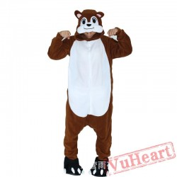 Adult Chipmunk Kigurumi Onesie Pajamas / Costumes for Women & Men
