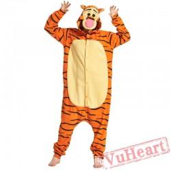 Adult Tiger Kigurumi Onesie Pajamas / Costumes for Women & Men