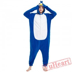 Adult Blue Penguin Onesie Pajamas / Costumes for Women & Men