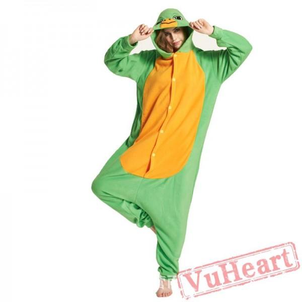Adult Turtles Kigurumi Onesie Pajamas / Costumes for Women & Men