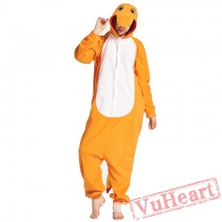 Adult Fire Dragon Onesie Pajamas / Costumes for Women & Men