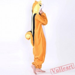 Chipmunk Kigurumi Onesies Pajamas Costumes for Women & Men