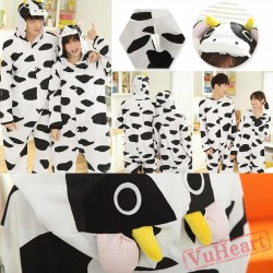 Cow Couple Onesies / Pajamas / Costumes