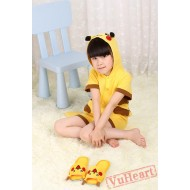 Pikachu Kigurumi Onesies Pajamas Costumes for Boys & Girls