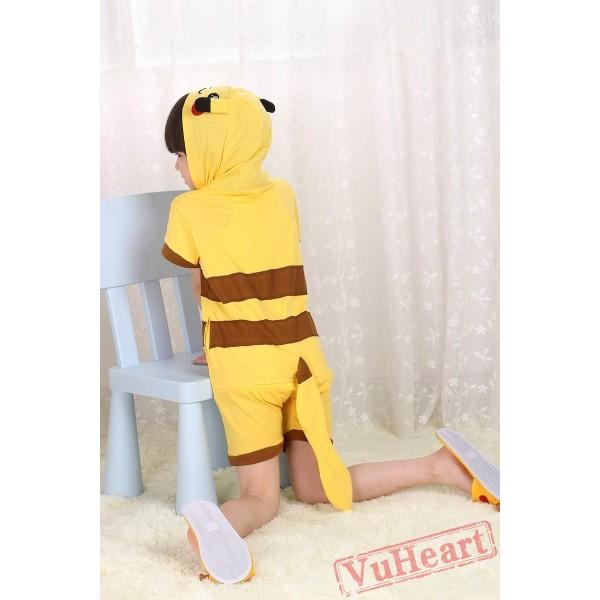 Pikachu Kigurumi Onesies Pajamas Costumes for Boys & Girls