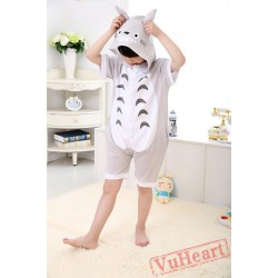 Anime Totoro Sumer Kigurumi Onesies Pajamas Costumes for Boys & Girls