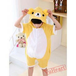 Rilakkuma Kigurumi Onesies Pajamas Costumes for Boys & Girls