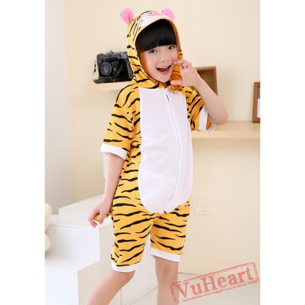 Tigger Summer Kigurumi Onesies Pajamas Costumes for Boys & Girls