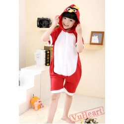 Angry Birds Summer Kigurumi Onesies Pajamas Costumes for Boys & Girls