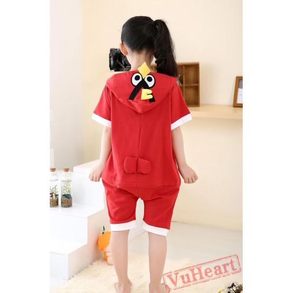 Angry Birds Summer Kigurumi Onesies Pajamas Costumes for Boys & Girls