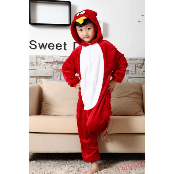 Angry Birds Kigurumi Onesies Pajamas Costumes for Boys & Girls Winter