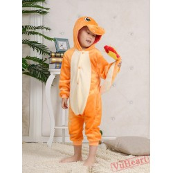 Charm&er Pocket Monsters Kigurumi Onesies Pajamas Costumes for Boys & Girls