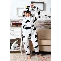Cow Kigurumi Onesies Pajamas Costumes for Boys & Girls
