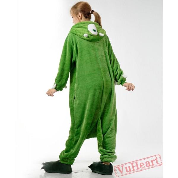 Big Eyed Monster Kigurumi Onesies Pajamas Costumes for Women & Men
