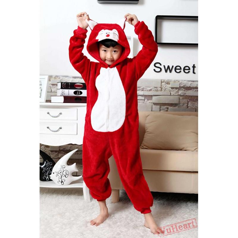 Red Fox Kigurumi Onesies Pajamas Costumes for Boys u0026 Girls Winter  sc 1 st  VuHeart & Boys u0026 Girls Red Fox Kigurumi Onesies Pajamas Costumes Winter
