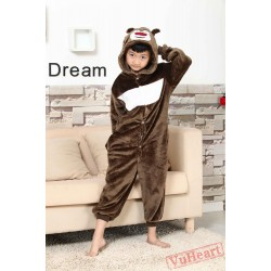 Big Bear Kigurumi Onesies Pajamas Costumes for Boys & Girls Winter
