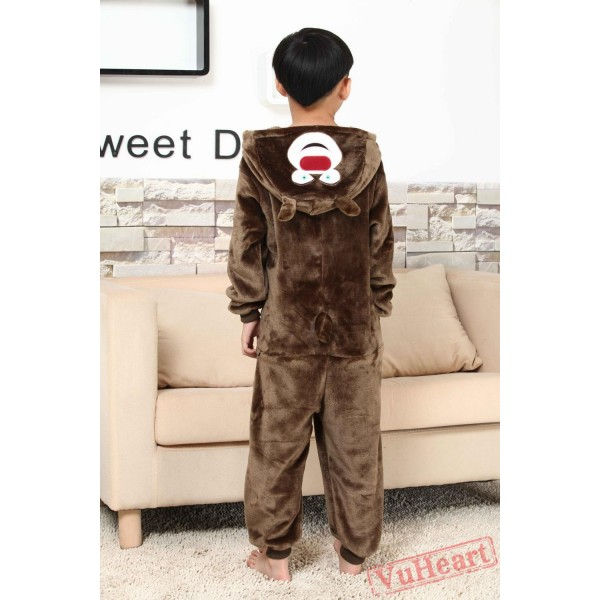 Big Bear Kigurumi Onesies Pajamas Costumes for Boys & Girls Winter