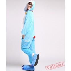 Doraemon Kigurumi Onesies Pajamas Costumes for Women & Men