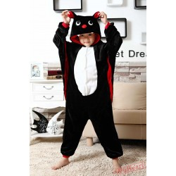 Bat Kigurumi Onesies Pajamas Costumes for Boys & Girls Winter