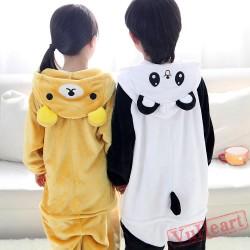 Cute P&a Kigurumi Onesies Pajamas Costumes for Boys & Girls
