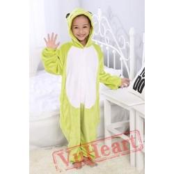 Frog Kigurumi Onesies Pajamas Costumes for Boys & Girls
