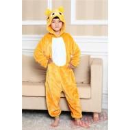 Rilakkuma Bear Kigurumi Onesies Pajamas Costumes for Boys & Girls