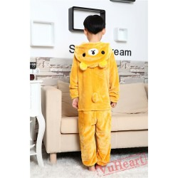 Rilakkuma Bear Kigurumi Onesies Pajamas Costumes for Boys & Girls