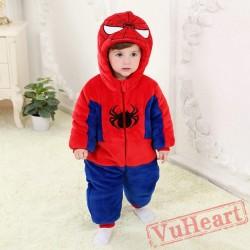 Spider Man Kigurumi Onesies Pajamas Costumes Toddler Pajamas for Baby