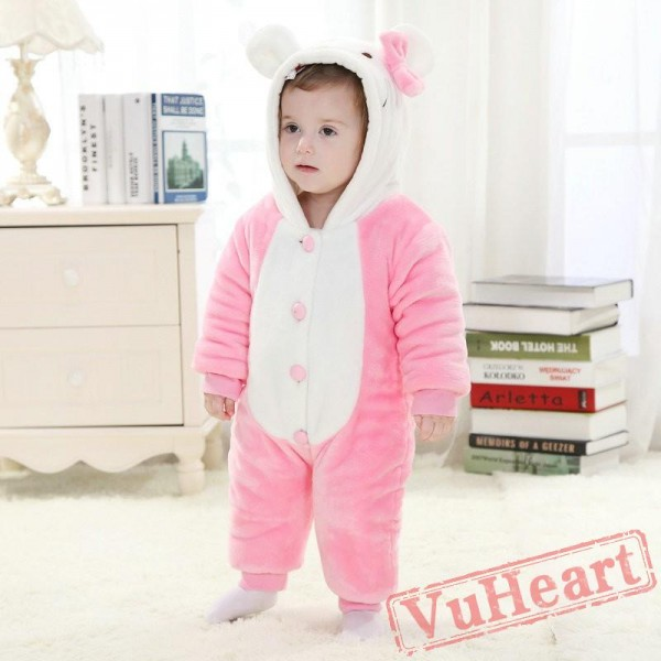 Kitty Cat Kigurumi Onesies Pajamas Costumes Toddler Pajamas for Baby
