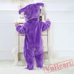 Libra Zodiac Sign Purple Kigurumi Onesies Pajamas Costumes Toddler Pajamas for Baby
