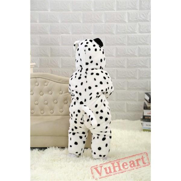 Spotty Dog Dalmatian Kigurumi Onesies Pajamas Costumes Toddler Onesies for Baby
