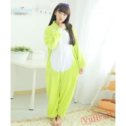 Green Frog Kigurumi Onesies Pajamas Costumes for Women & Men