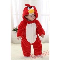 Angry Birds Red Kigurumi Onesies Pajamas Costumes Toddler Pajamas for Baby