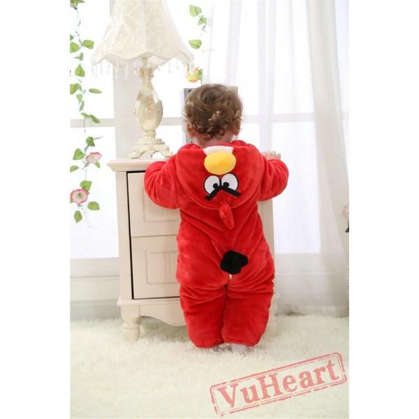 Angry Birds Red Kigurumi Onesies Pajamas Costumes Toddler Pajamas for Baby