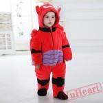 Big Hero Baymax Robot Kigurumi Onesies Pajamas Costumes Toddler Pajamas for Baby