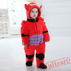 Big Hero Baymax Robot Kigurumi Onesies Pajamas Costumes Toddler Pajamas for Baby