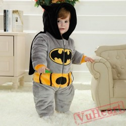 Batman Kigurumi Onesies Pajamas Costumes Toddler Pajamas for Baby