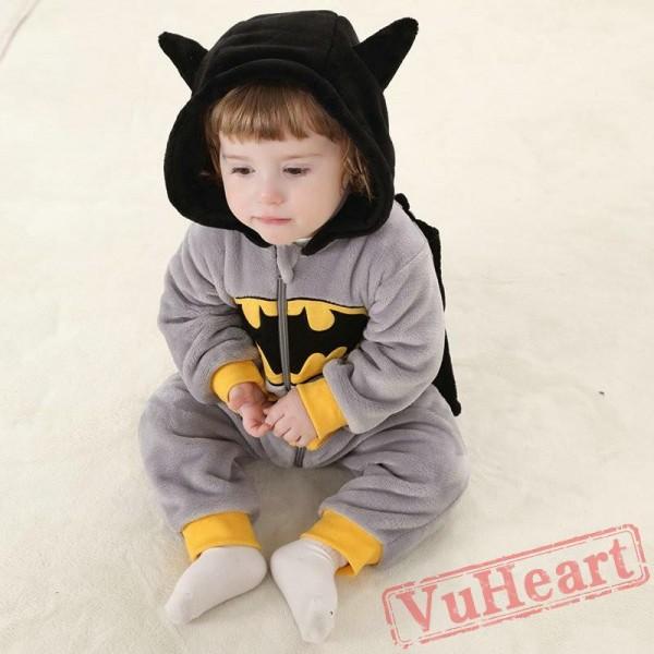 Batman Kigurumi Onesies Pajamas Costumes Toddler Pajamas for Baby