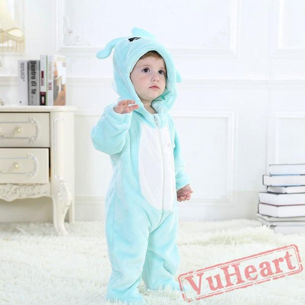 Aquarius Blue Zodiac Kigurumi Onesies Pajamas Costumes Toddler Pajamas for Baby