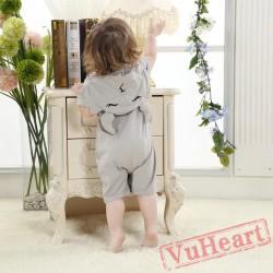 Scorpio Grey Scorpion Kigurumi Onesies Pajamas Costumes for Baby