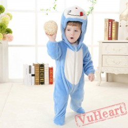 Doraemon Cartoon Kigurumi Onesies Pajamas Costumes Spring for Baby