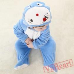 Doraemon Cartoon Kigurumi Onesies Pajamas Costumes Spring for Baby