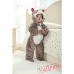 Cat Kigurumi Onesies Pajamas Costumes Winter Pajamas for Baby