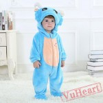 Capricornus Blue Zodiac Kigurumi Onesies Pajamas Costumes Toddler Pajamas for Baby