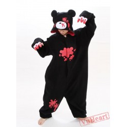 Black Gloomy Kigurumi Onesies Pajamas Costumes for Women & Men