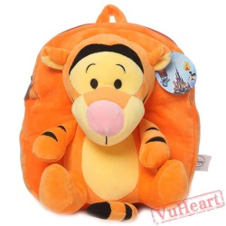 Disney Cartoon Tigger Kids School Bags Backpacks Shoulders Bags