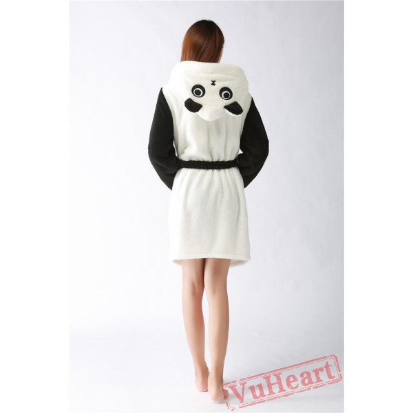 Cute P&a Winter Warm Robe Couple Spleepwear Kigurumi Pajamas