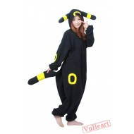 Black Pokemon Kigurumi Onesies Pajamas Costumes for Women & Men