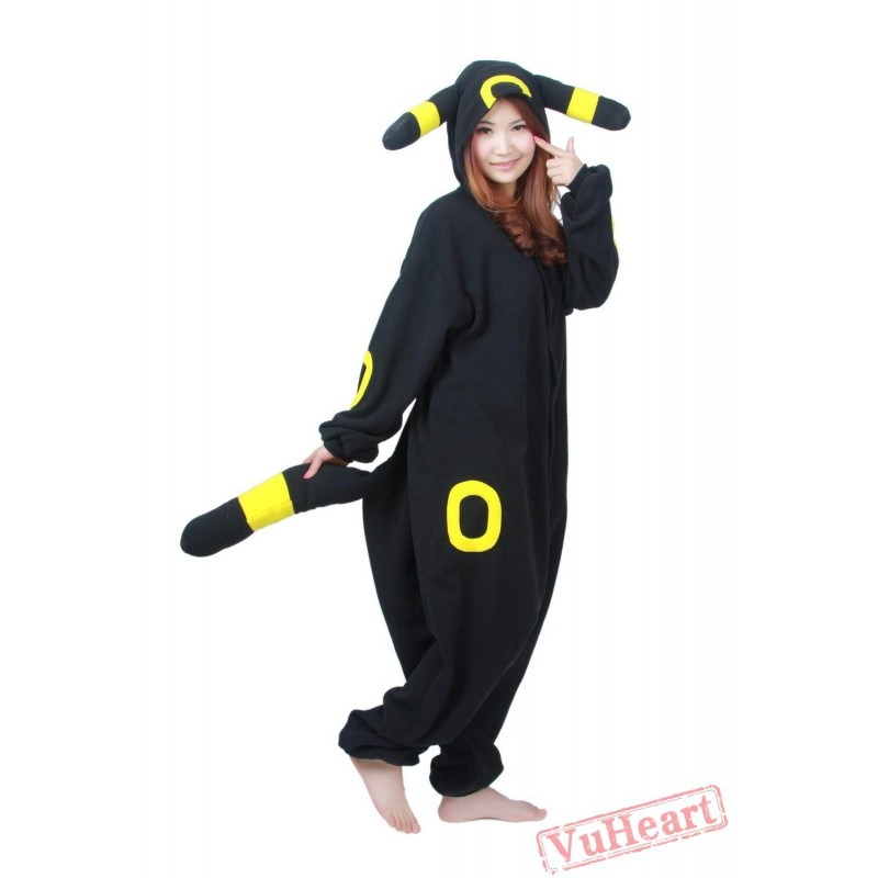 2bcb62f23c6e Black Pokemon Kigurumi Onesies Pajamas Costumes for Women   Men